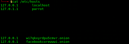 File /etc/hosts