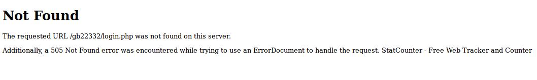Errore 505 (?)