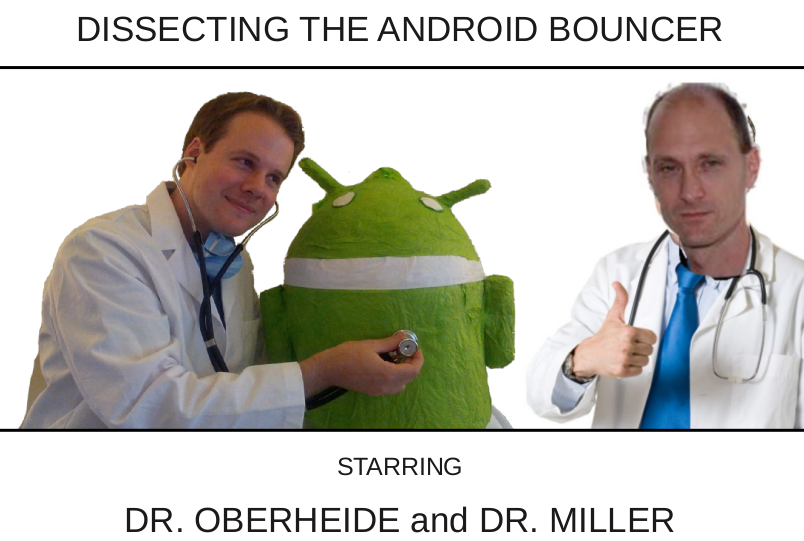 Dissecting the Andrdoid Bouncer