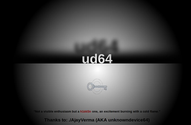 Vulnhub: unknowndevice64