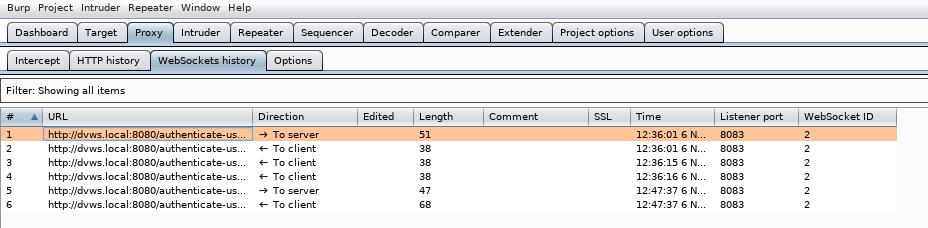Conversazione client-server con WebSocket