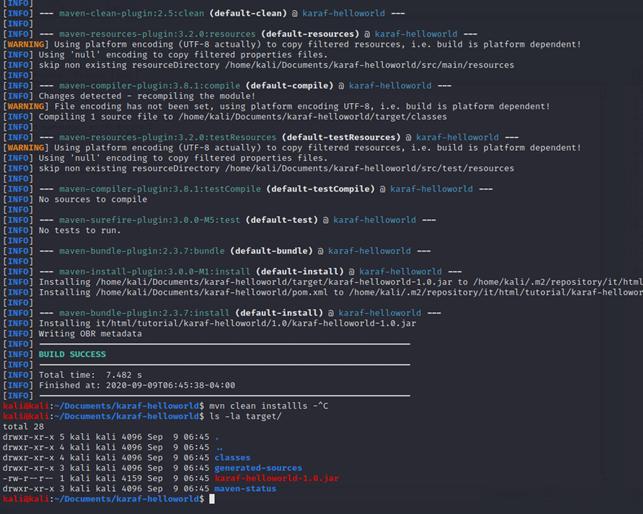 Compilazione del codice